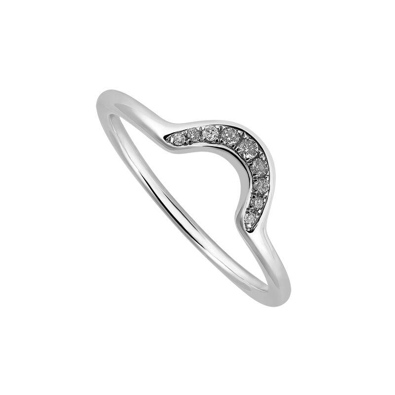 Anillo orla diamante gris plata, J03368-01, hi-res