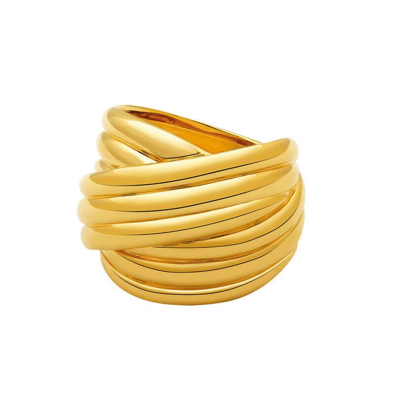 Anillo multibrazo enroscado oro, J02094-02, hi-res