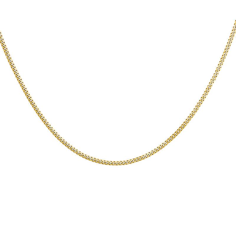 Chaîne irrégulière en argent plaqué or, J04610-02, hi-res