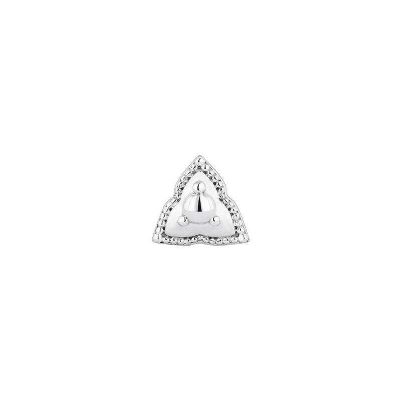White gold triangle piercing, J04371-01-H, hi-res