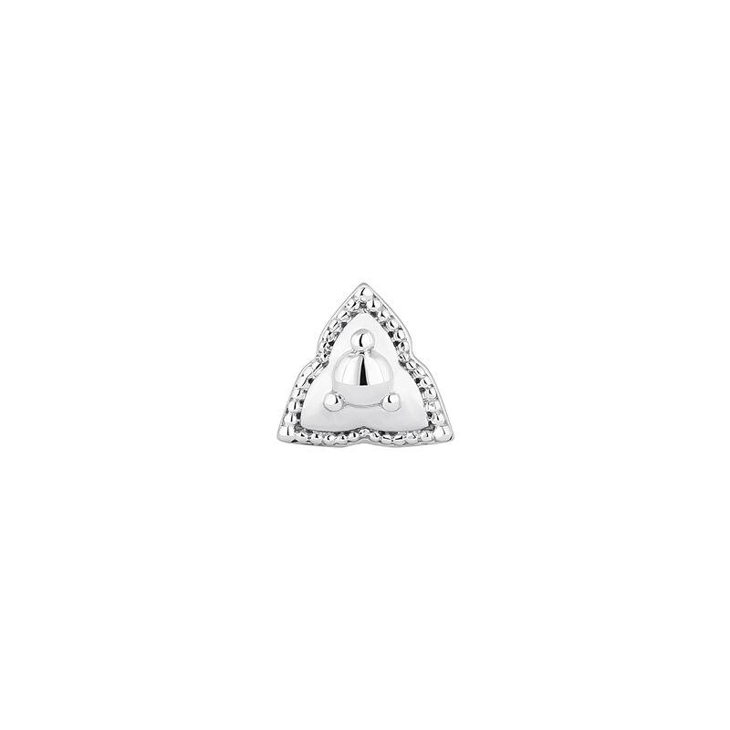 Piercing triángulo oro blanco 9 kt, J04371-01-H, hi-res