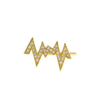 Pendiente derecho rayo topacio oro, J03806-02-WT-R, hi-res