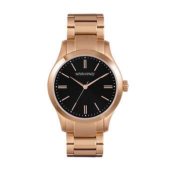 Mitte watch bracelet black face, W41A-PKPKBL-AXPK, hi-res