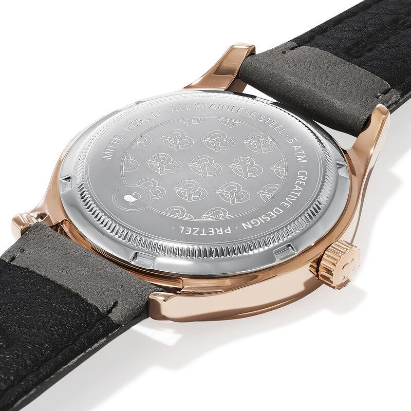 Mitte watch grey strap and face, W41A-PKPKGR-LEGR, hi-res