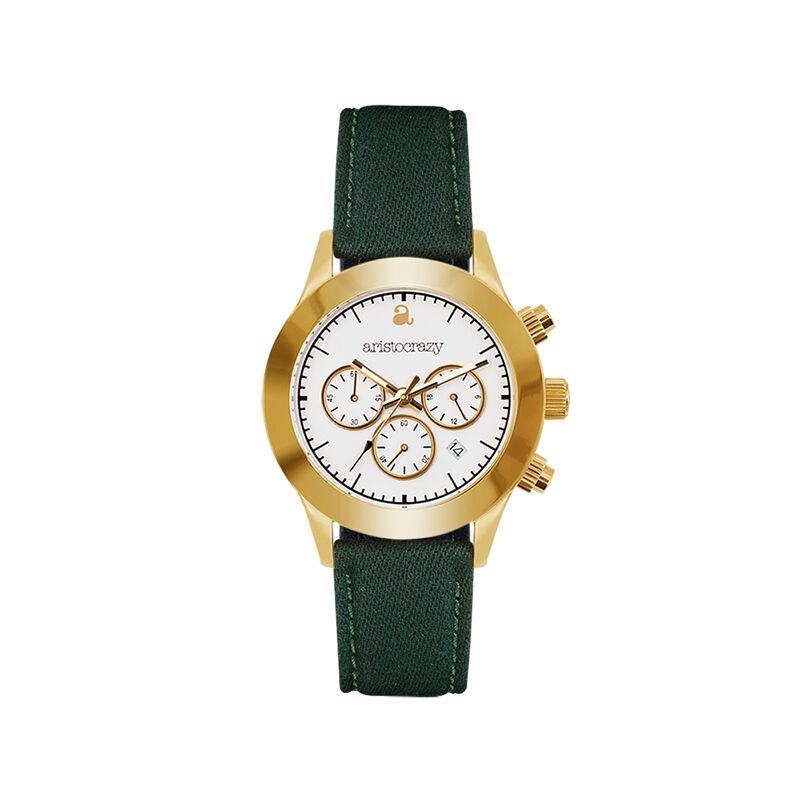 Reloj Soho verde esfera blanca, W29A-YWYWWH-FAGE, hi-res