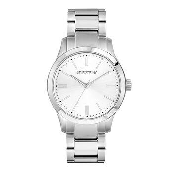 Montre Mitte bracelet cadran blanc, W41A-STSTGR-AXST, hi-res