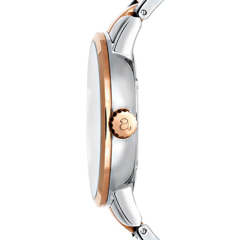 Two-Tone Bracelet Brooklyn Watch, W45A-PKPKWH-PMIX, hi-res