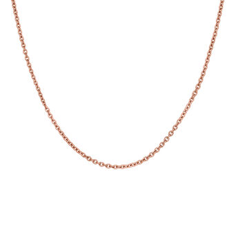 Rose gold simple chain, J03434-03, hi-res