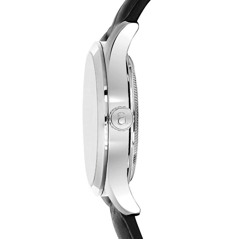 Reloj Mitte negro liso esfera negra, W41A-STSTBL-LESB, hi-res