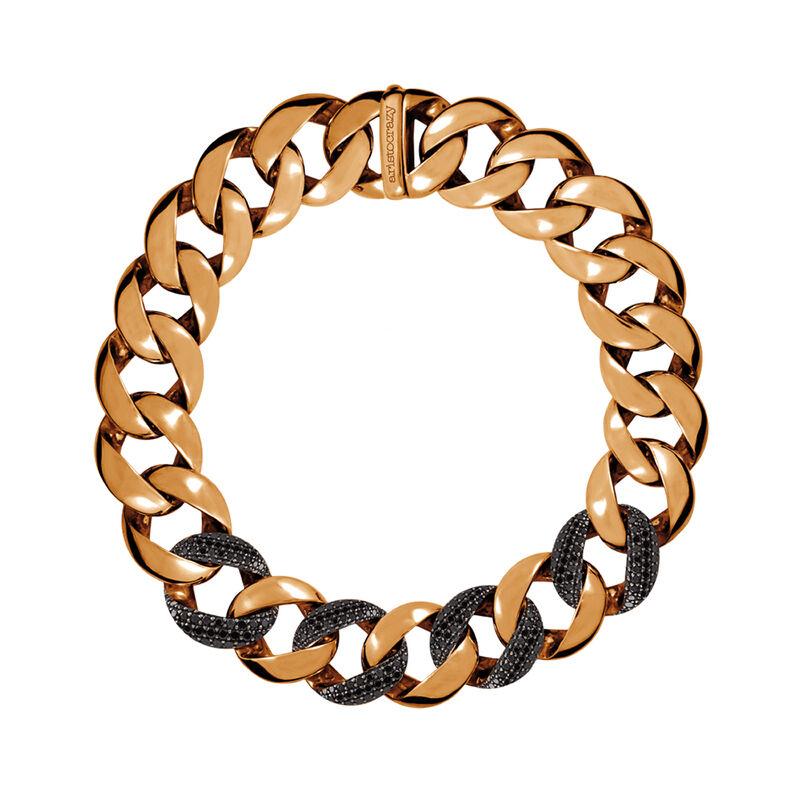 Collar eslabones espinelas oro rosa, J00911-03, hi-res
