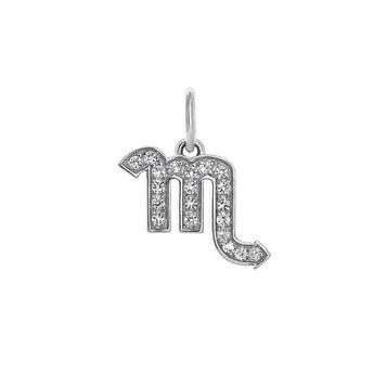 Scorpio silver pendant, J03608-01-WT, hi-res