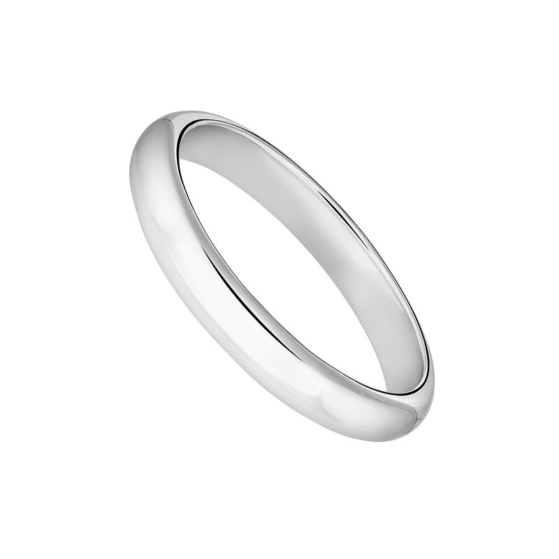 Anillo banda pequeño plata, J04100-01, hi-res