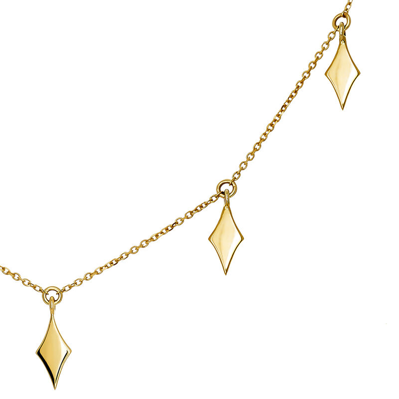 Colgante rombos oro, J03868-02, hi-res