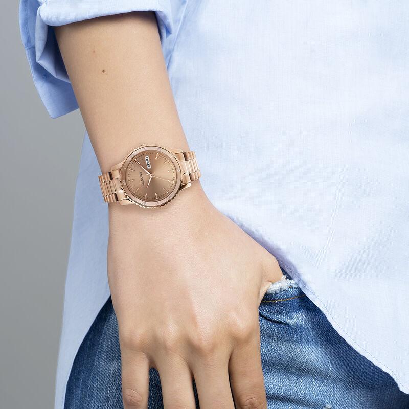 Shibuya watch bracelet pink face, W43A-PKPKPK-AXPK, hi-res