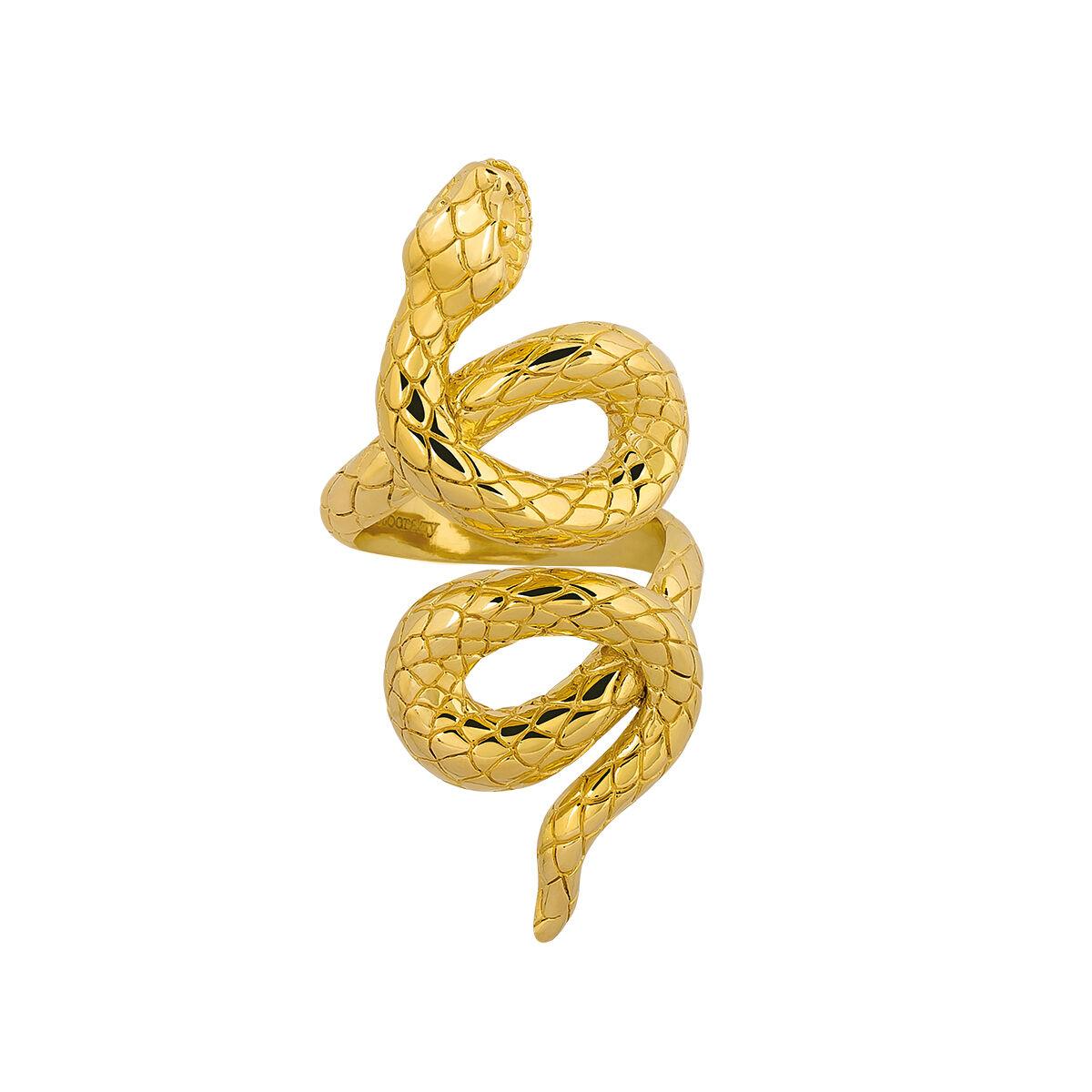 bague or serpent homme