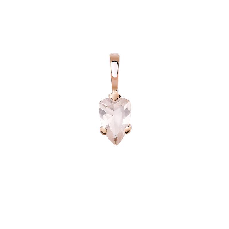 Rose gold plated quartz pendant, J03949-03-PQ, hi-res