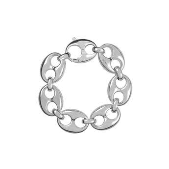Silver large calabrote bracelet, J01314-01, hi-res