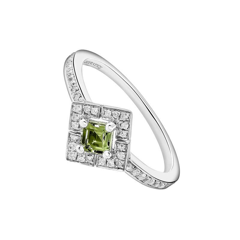 Anillo cuadrado turmalina verde plata, J03772-01-GTU, hi-res