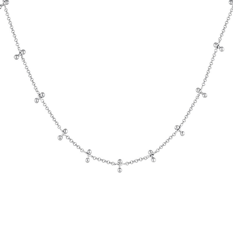 Collar barras piercing plata, J04328-01, hi-res