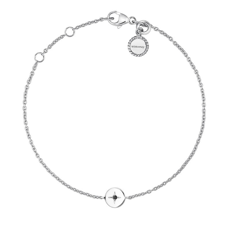 Pulsera círculo espinela plata, J03790-01-BSN, hi-res
