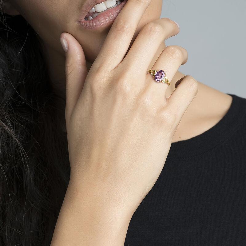 Gold amethyst triplet ring, J03748-02-AM-LQ, hi-res