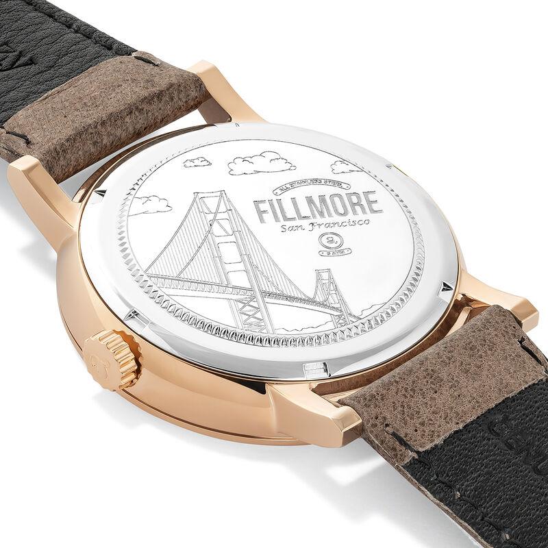 Montre Fillmore cuir beige, W55A-PKPKWP-LEBG, hi-res