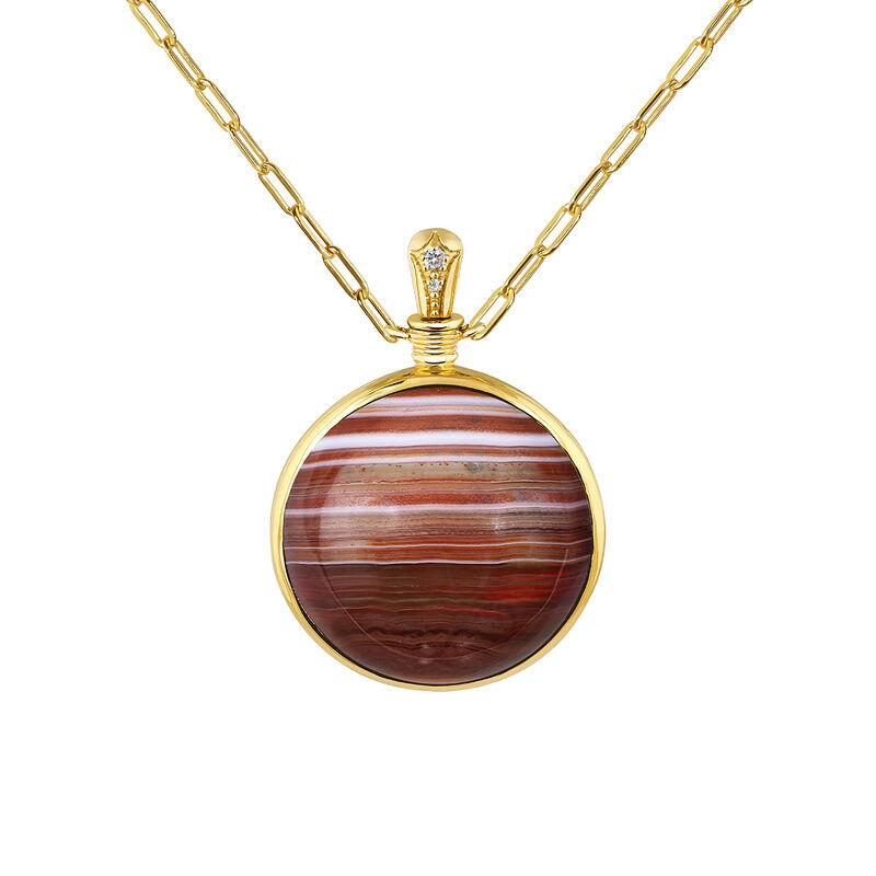 Large necklace red agate gold, J04127-02-BAAG-WT, hi-res