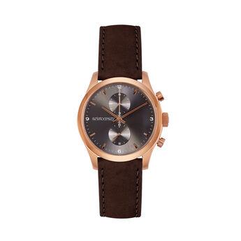 Reloj Moustique marrón esfera gris, W0037Q-STGR-LECH, hi-res