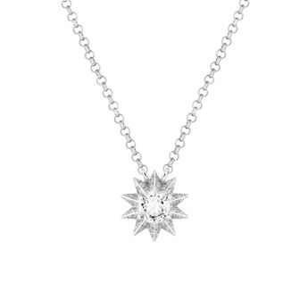 Collier topaze et diamants, J03308-01-WT-SP, hi-res