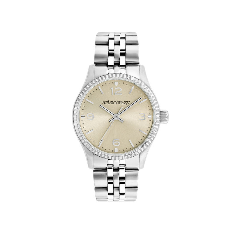 St. Barth Mini watch bracelet champagne face, W30A-STSTCP-AXST, hi-res