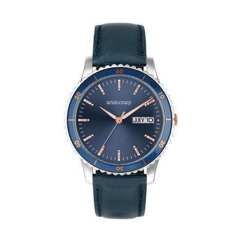 Reloj Shibuya correa esfera azul , W0043Q-STBU-LEBU, hi-res