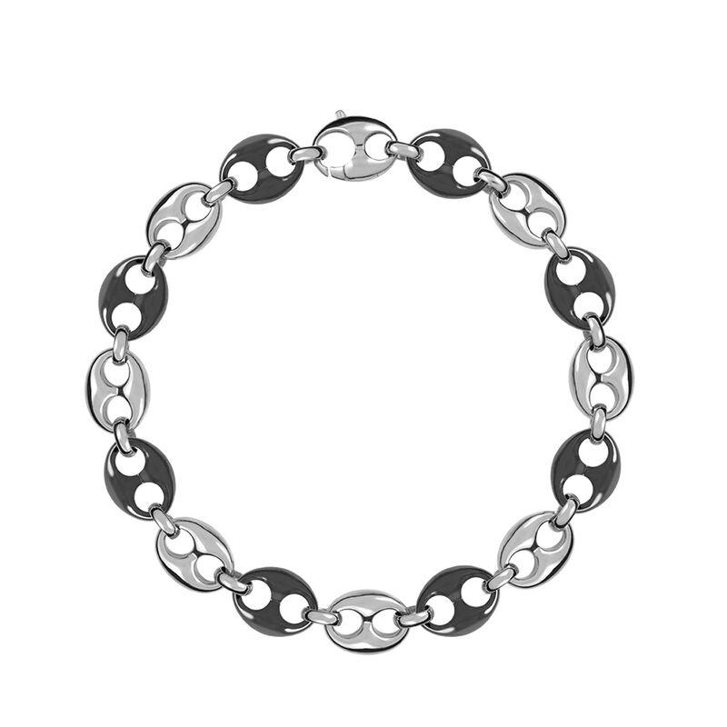 Collar calabrote cerámica plata, J01341-01-CER, hi-res
