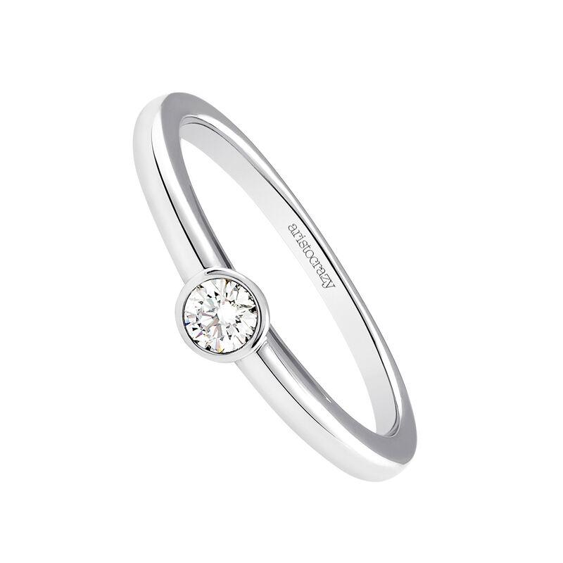 Anillo diamante oro blanco 0,1 ct, J03017-01-10-GVS, hi-res