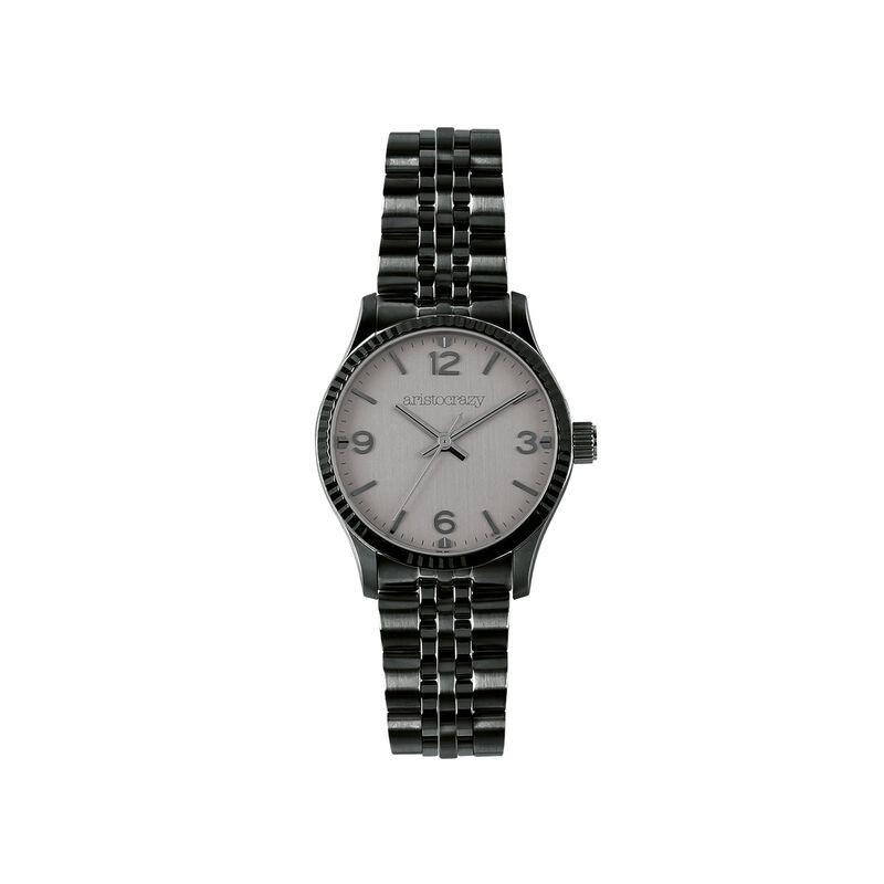 St. Barth watch dark grey steel