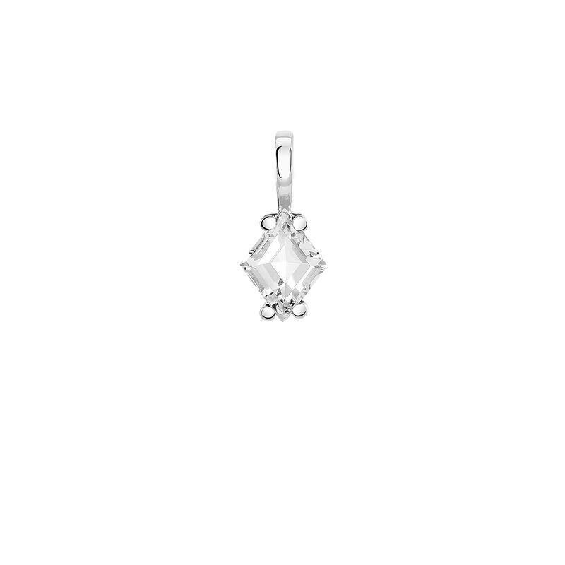 Silver topaz necklace, J03951-01-WT, hi-res