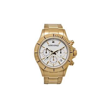 Reloj Soho armis oro esfera blanca, W0024Q-STWH-STAM, hi-res