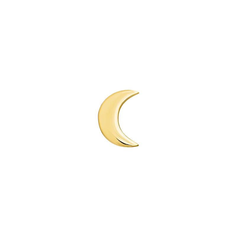 Boucles d'oreilles en or jaune de 9 ct avec motif lune, J04524-02-H, hi-res