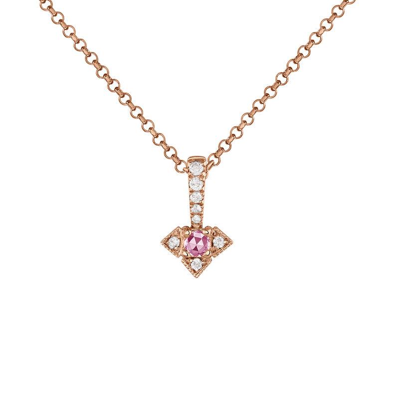 Colgante vintage plata recubierta oro rosa, J03802-03-PS, hi-res