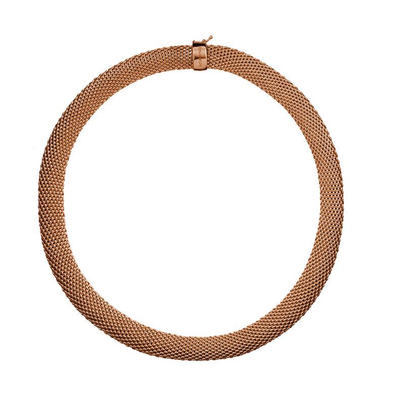 Collar malla mediano oro rosa, J01481-03, hi-res