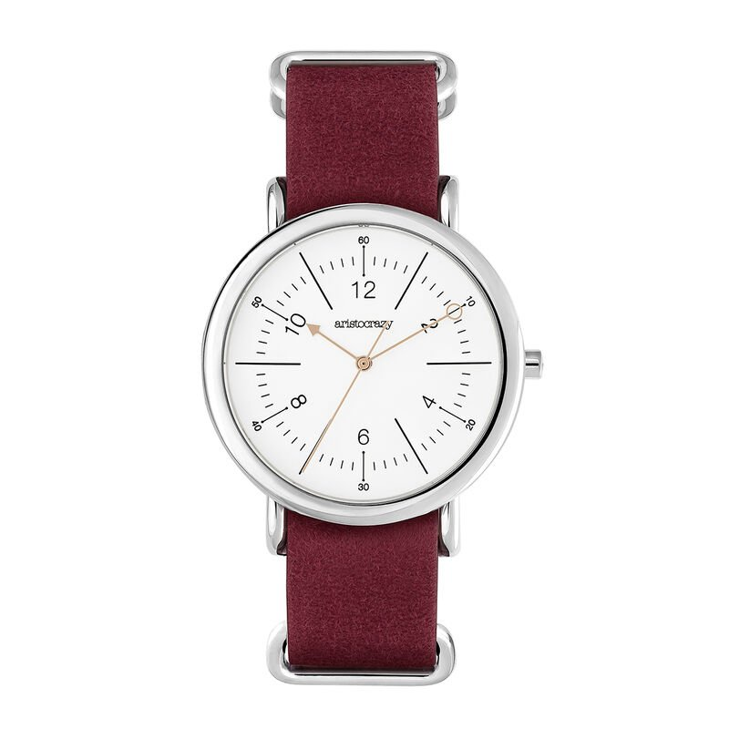 Camps Bay watch red strap, W49A-STSTWM-LERD, hi-res