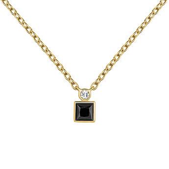 Necklace spinel topaz gold, J04061-02-BSN-WT, hi-res