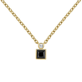 Necklace spinel topaz gold, J04061-02-BSN-WT, hi-res