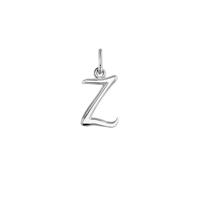 Silver initial Z necklace, J03932-01-Z, hi-res