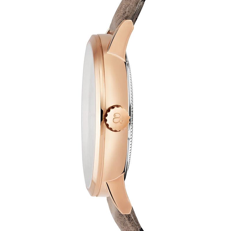 Fillmore watch beige strap, W55A-PKPKWP-LEBG, hi-res