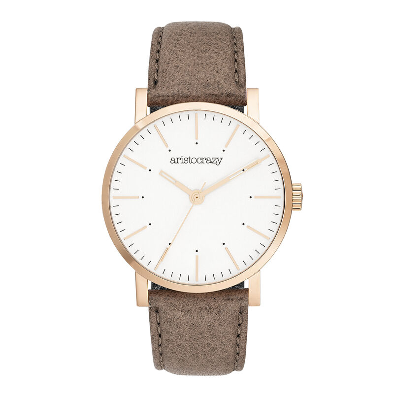 Reloj Fillmore correa beige, W55A-PKPKWP-LEBG, hi-res
