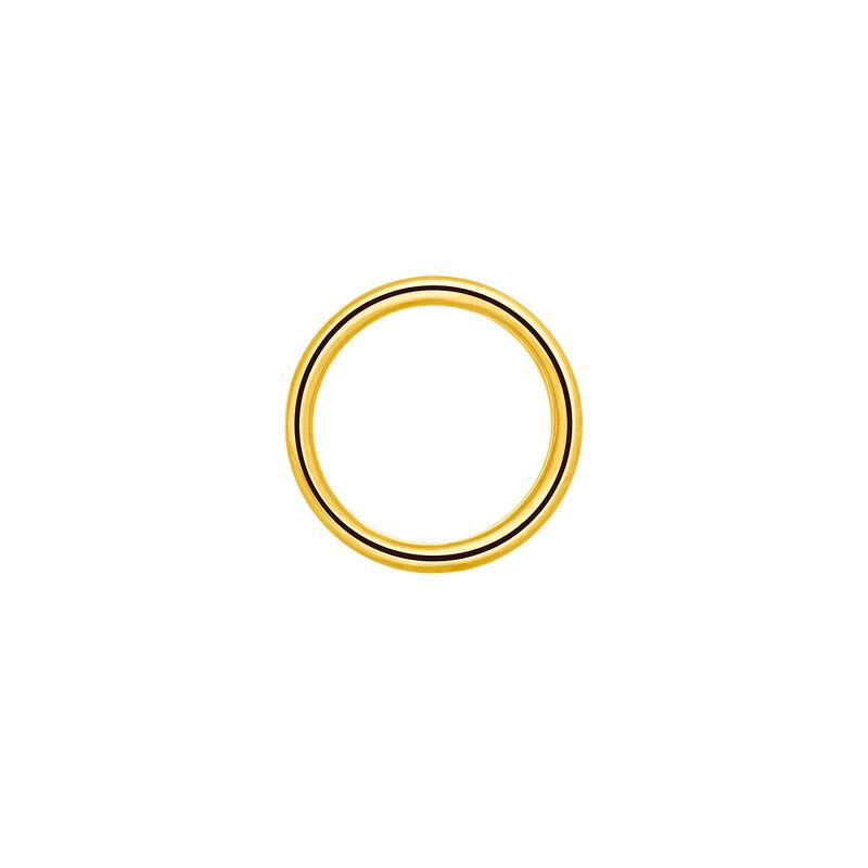 Pendiente piercing círculo cartílago oro, J03473-02, hi-res