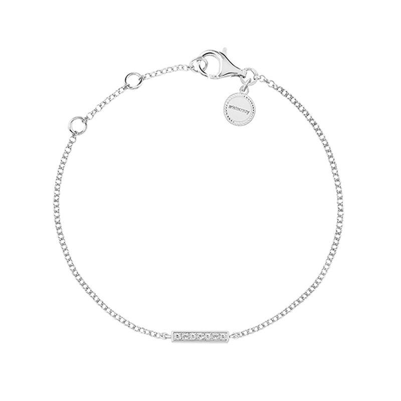 Pulsera barra topacio plata, J03296-01-WT, hi-res