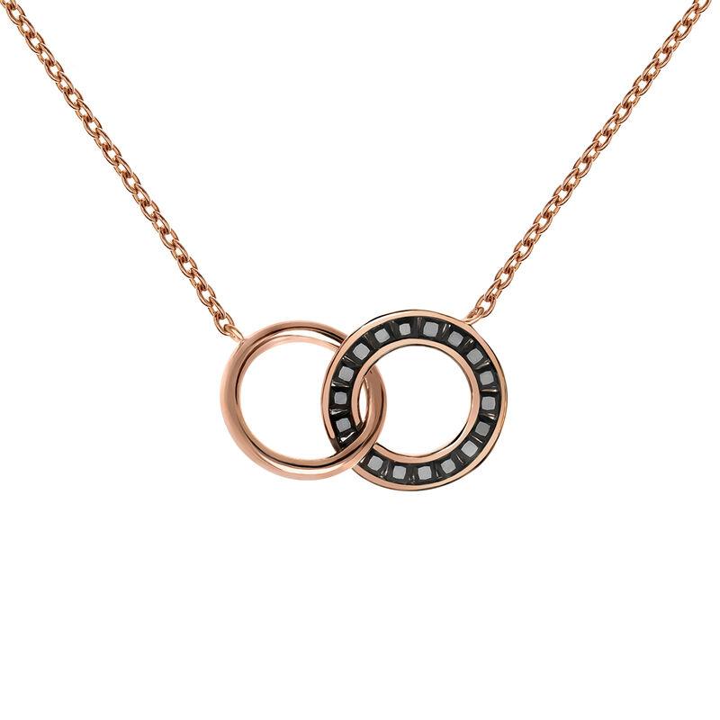 Colgante doble círculo espinela oro rosa, J03667-03-BSN, hi-res