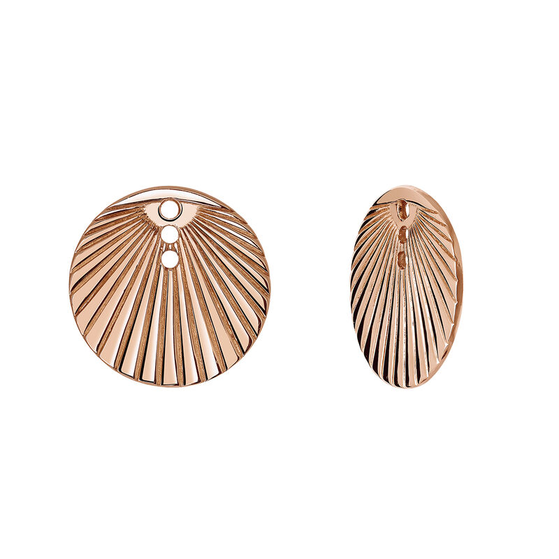 Engraved rose gold circular jackets, J03740-03, hi-res