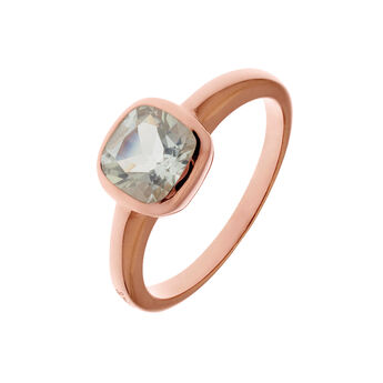 Green quartz rose gold ring, J01772-03-GQ, hi-res
